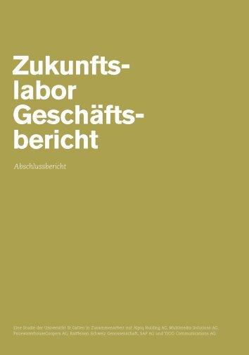 Zukunfts- labor Geschäfts- bericht - YJOO Communications AG