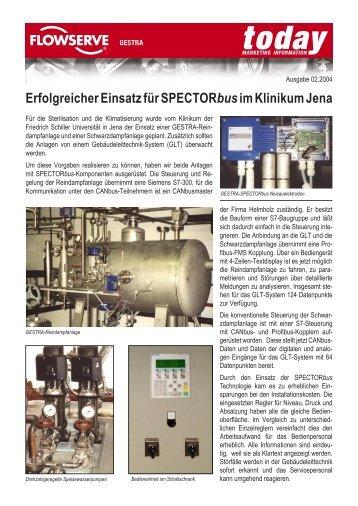 Erfolgreicher Einsatz für SPECTORbusim Klinikum Jena