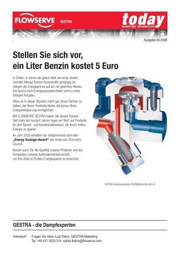 Stellen Sie sich vor, ein Liter Benzin kostet 5 Euro