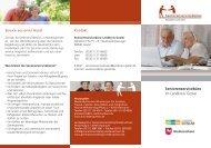 Seniorenservicebüro im Landkreis Goslar - Landesvereinigung für ...