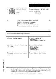 2136168 . T3 - Oficina Española de Patentes y Marcas