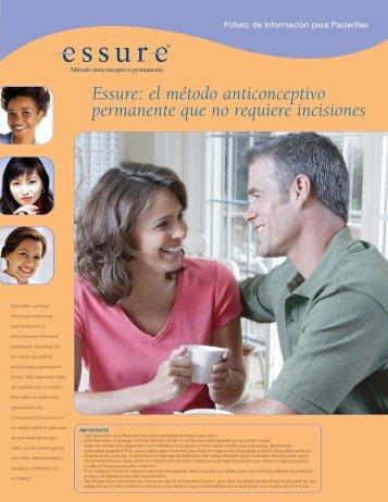 Essure: el método anticonceptivo permanente que no requiere ...