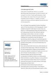 Presseinformation Seite 1 / 12.10.2010 GETIFIX GmbH Kontakt ...