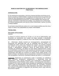 MANEJO SANITARIO DE LOS BECERROS Y ...