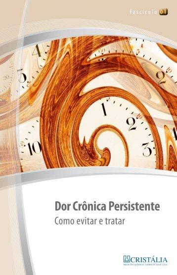 Dor Crônica Persistente - Sociedade Brasileira para o Estudo da Dor