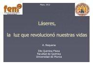 Láseres, la luz que revolucionó nuestras vidas - Universidad de ...