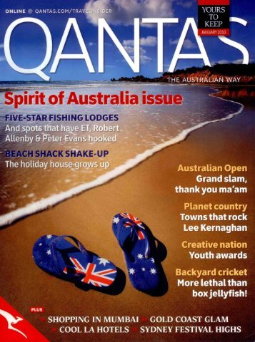Qantas Magazine - Capella Lodge