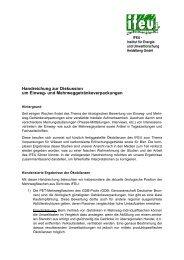 Download IFEU-Stellungnahme