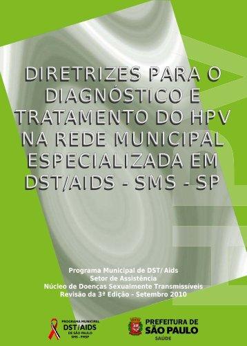 diretrizes para o diagnóstico e tratamento do hpv - Programa ...