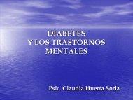 DIABETES Y LOS TRASTORNOS MENTALES - SAPTEL
