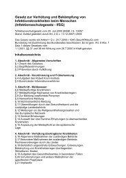 Infektionsschutzgesetz - IfSG - GEW - Berlin
