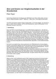 Referat Peter Heyer (pdf / 34 kb) - GEW - Berlin