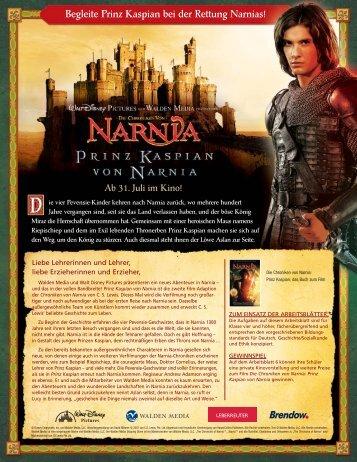 Begleite Prinz Kaspian bei der Rettung Narnias! - GEW
