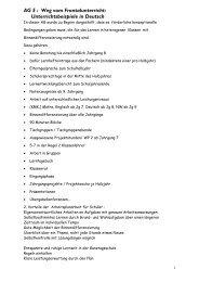 AG 5 : Weg vom Frontalunterricht: Unterrichtsbeispiele in ... - GEW