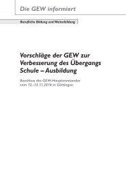 Der vollständige Text [hier...] - GEW Bremen