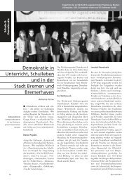 Demokratie in Unterricht, Schulleben und in der Stadt ... - GEW