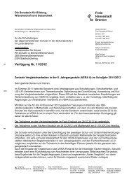 VERA 8 Änderungsverfügung 6.2.2012 (pdf, 88 kB - LIS - Bremen