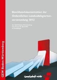 2. A - Gewerkschaft  Erziehung und Wissenschaft Baden-Württemberg