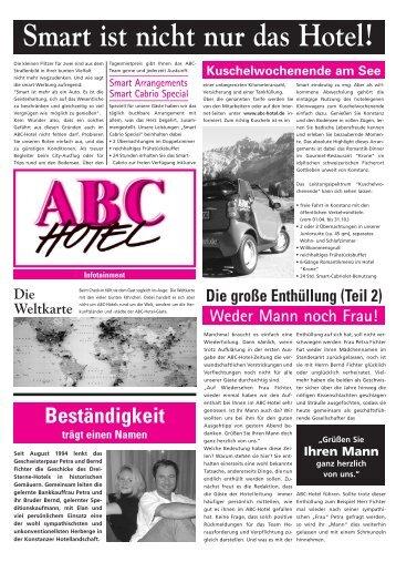 Hotel magazine 2002 - Abc-Hotel Garni