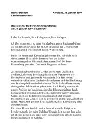 Rainer Dahlem - Gewerkschaft Erziehung und Wissenschaft Baden ...