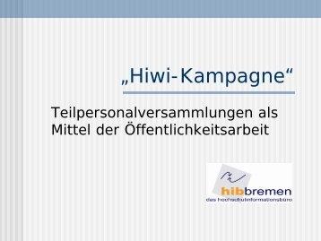 Hiwi-Kampagne hib Bremen - DGB Jugend Niedersachsen und ...