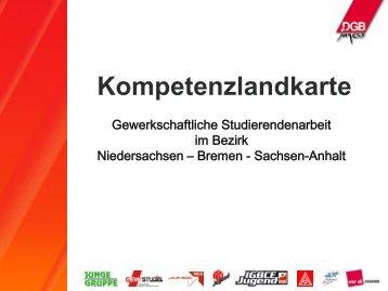 Kompetenzlandkarte - DGB Jugend Niedersachsen und Bremen