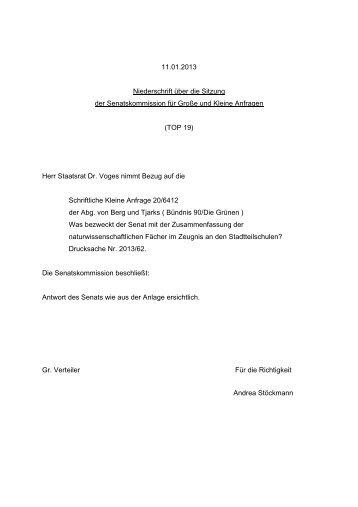 Herr Staatsrat Dr. Voge