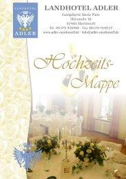 Klicken Sie hier um die Hochzeitsmappe zu ... - Landhotel Adler
