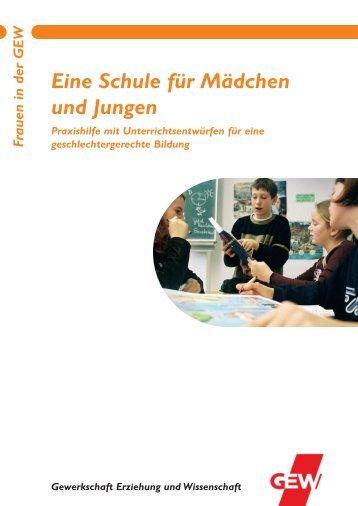 Eine Schule für Mädchen und Jungen - GEW - Berlin