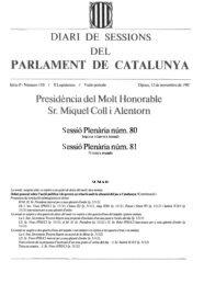DSPC-P 110/02 - Parlament de Catalunya