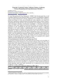 El rea Metropolitana del Gran Resistencia - EGAL 2009 - Programa ...