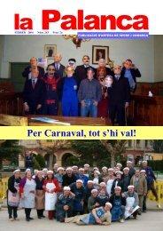 Per Carnaval, tot s'hi val! - La Palanca