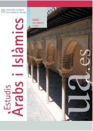 Estudis Àrabs i Islàmics - Ua
