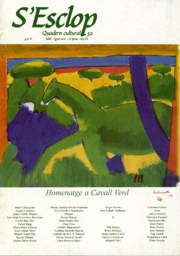 Homenatge a Cavall Verd - Biblioteca Digital de les Illes Balears ...