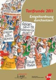 Tarifrunde 2011 - GEW Niedersachsen