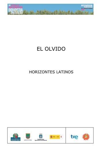 EL OLVIDO - Cobos Films