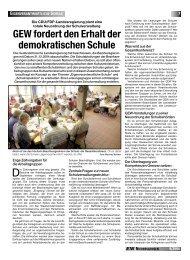 eigenverantwortliche schule - GEW Niedersachsen