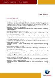 BOPE n° 2012-42 du 15 mai 2012 - Pôle emploi