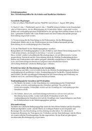 Schuleingangsphase hier: Orientierungshilfen für ... - GEW Thüringen