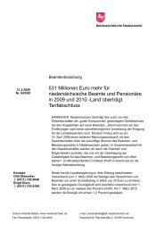 09 03 31-Beamtenbesoldung Kab-PI - GEW Niedersachsen