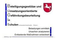 Belastungen - GEW Niedersachsen