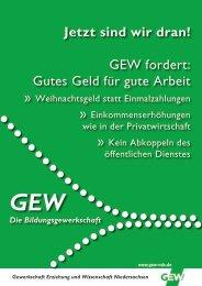 Handzettel 3 - GEW Niedersachsen