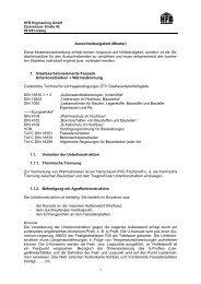 Ausschreibungstext (Muster) - HFB Engineering GmBH