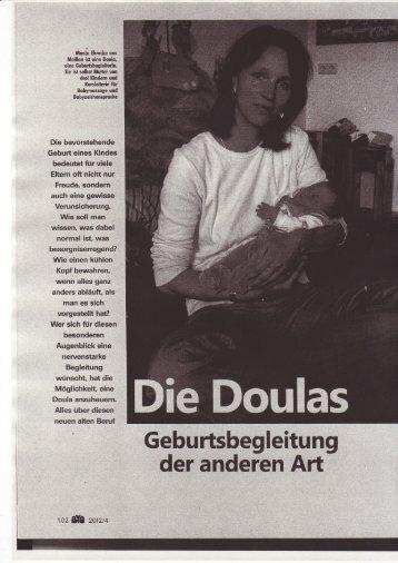 """Doulas - Geburtsbegleitung der anderen Art"" Artikel in BIO"