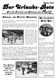 Winterdorf - Wintersport - Hotel Alpenhof