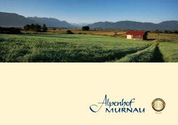 Hotelprospekt - Alpenhof Murnau