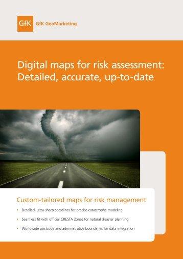 Flyer risk assessment - GfK GeoMarketing
