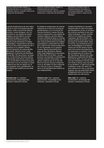 07 article Beltran-Comas-Gurri-Joan.qxp - Ajuntament de Barcelona
