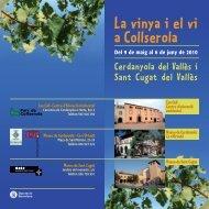 l.a vinya i el vı' - Ajuntament de Cerdanyola del Vallès