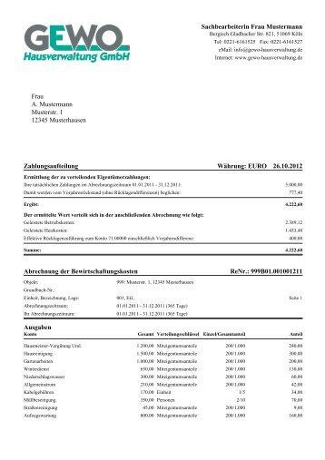 Abrechnung Directpay Gmbh : muster hausordnung 5 seen hausverwaltung ~ Themetempest.com Abrechnung